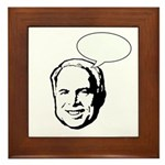 McCain (fill in bubble) Framed Tile