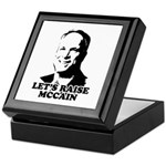 Let's raise McCain Keepsake Box