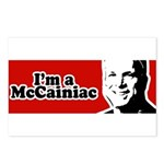 I'm a McCainiac Postcards (Package of 8)
