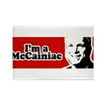 I'm a McCainiac Rectangle Magnet (10 pack)
