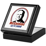 McCainiac 2008 Keepsake Box