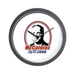 McCainiac 2008 Wall Clock