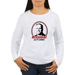 McCainiac 2008 Women's Long Sleeve T-Shirt