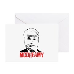 McCain is McDreamy Greeting Cards (Pk of 10)