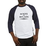McVote for McCain Baseball Jersey