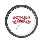 Team McCain Wall Clock