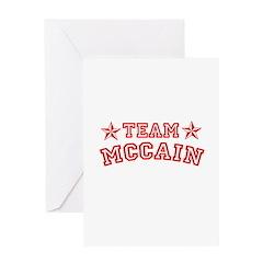 Team McCain Greeting Card
