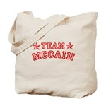 Team McCain Tote Bag