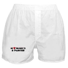 Belongs To A Painter Boxer Shorts