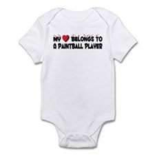 Belongs To A Paintball Player Infant Bodysuit