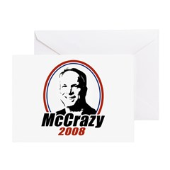 McCrazy 2008 Greeting Card