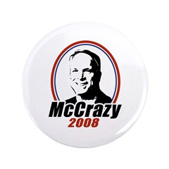 "McCrazy 2008 3.5"" Button"