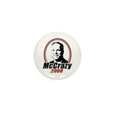 McCrazy 2008 Mini Button (10 pack)