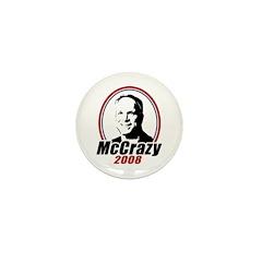 McCrazy 2008 Mini Button
