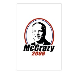 McCrazy 2008 Postcards (Package of 8)