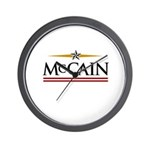 John McCain 08 Wall Clock