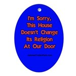 A gentle Reminder to Door knockers