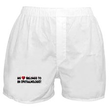 Belongs To An Ophthalmologist Boxer Shorts