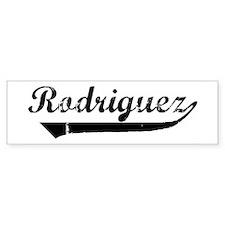 Rodriguez (vintage) Bumper Bumper Sticker