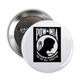 POW MIA Flag Button