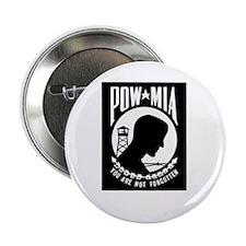 POW MIA Flag Button