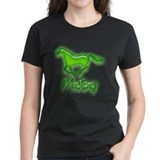 Galloping Green Mustang Tee
