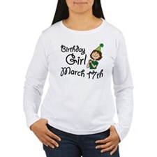 Birthday Girl March 17th T-Shirt