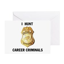 CRIMINALS Greeting Cards (Pk of 10)