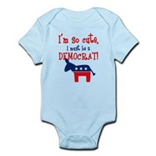 So Cute Democrat Onesie