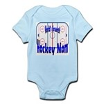 Greatest Hockey MOM Infant Creeper