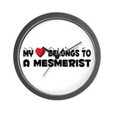 Belongs To A Mesmerist Wall Clock