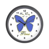 Cute One day at a time Wall Clock