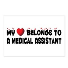 Belongs To A Medical Assistant Postcards (Package