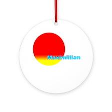 Maximillian Ornament (Round)