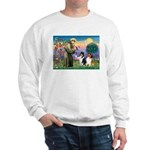 St Francis / Collie Pair Sweatshirt