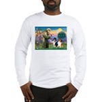 St Francis / Collie Pair Long Sleeve T-Shirt