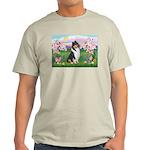Blossoms / Collie (tri) Light T-Shirt