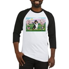 Blossoms / Collie (tri) Baseball Jersey