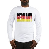 Germany Waving Long Sleeve T-Shirt