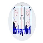 Hockey MOM Keepsake (Oval)