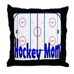 Hockey MOM Throw Pillow