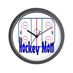 Hockey MOM Wall Clock