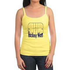 Hockey MOM Jr. Spaghetti Tank