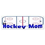 Hockey MOM Bumper Sticker