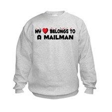 Belongs To A Mailman Sweatshirt