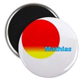 "Mathias 2.25"" Magnet (10 pack)"