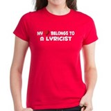 Belongs To A Lyricist Tee