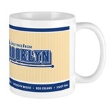 Vintage Brooklyn Coffee Coffee Mug