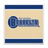 Vintage Brooklyn Tile Coaster