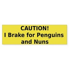 Penguins Bumper Sticker